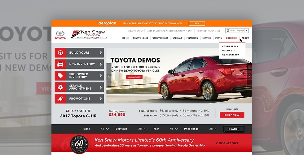 dealership your new thrifty find dealerships on walkerton toyota me near used