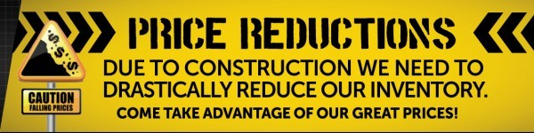 KEN SHAW TOYOTA CONSTRUCTION SALE
