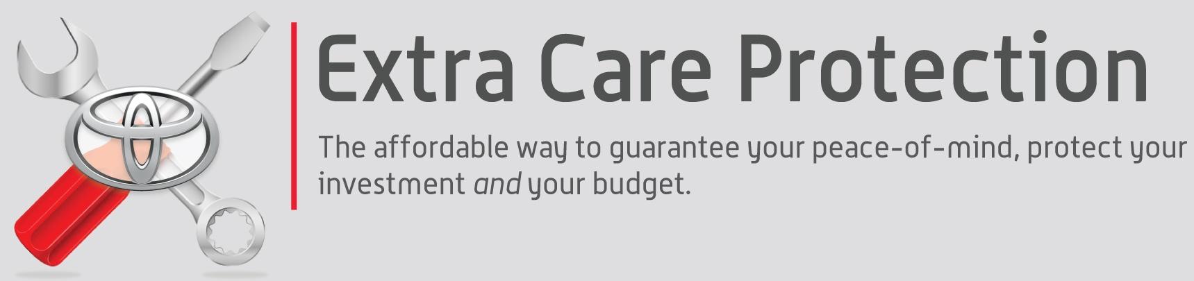 Extra Care Protection Service at Burlington Toyota