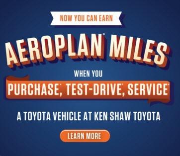 earn-aeroplan-miles-toyota