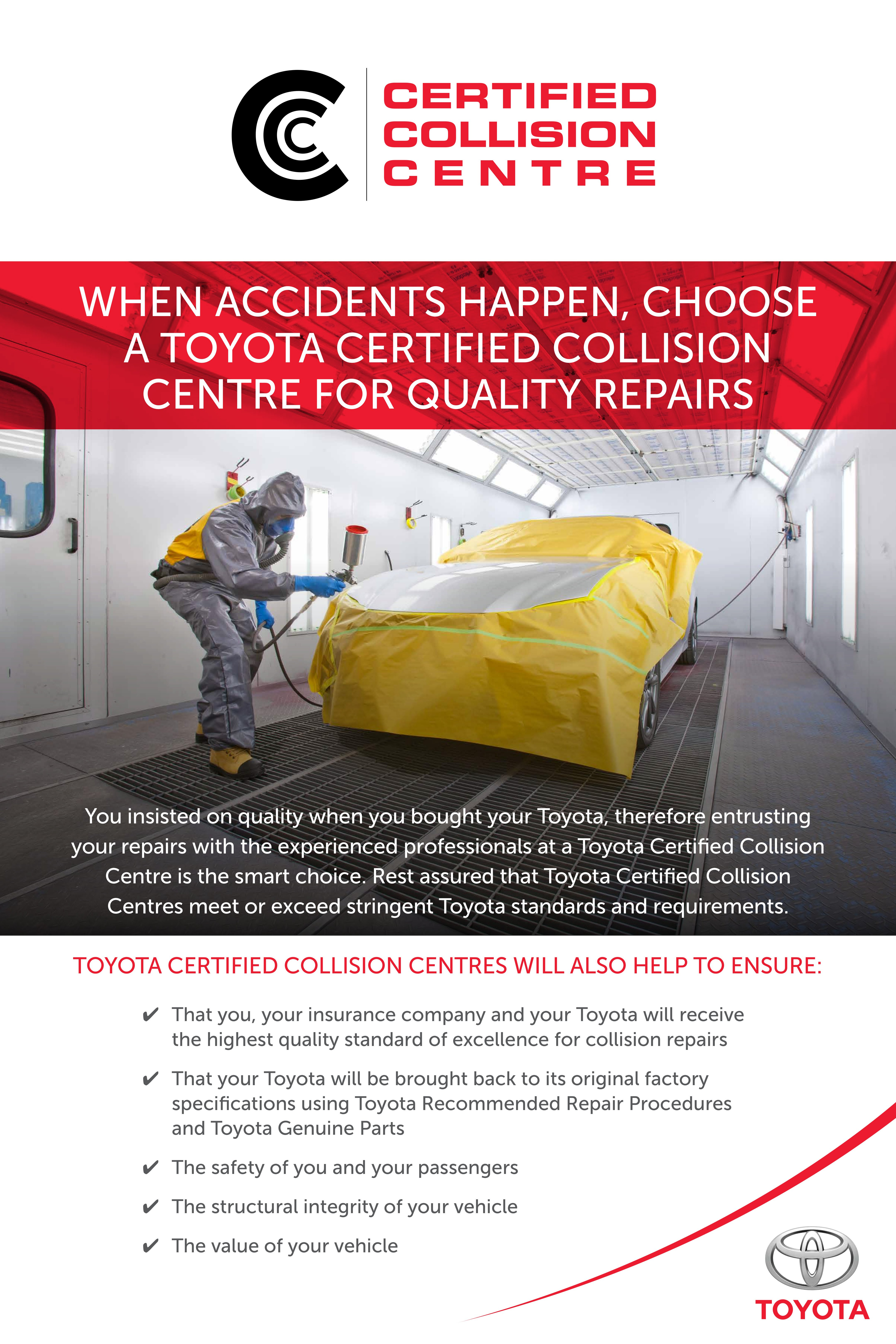 Insist On Ken Shaw Toyota Certified Collision Centre