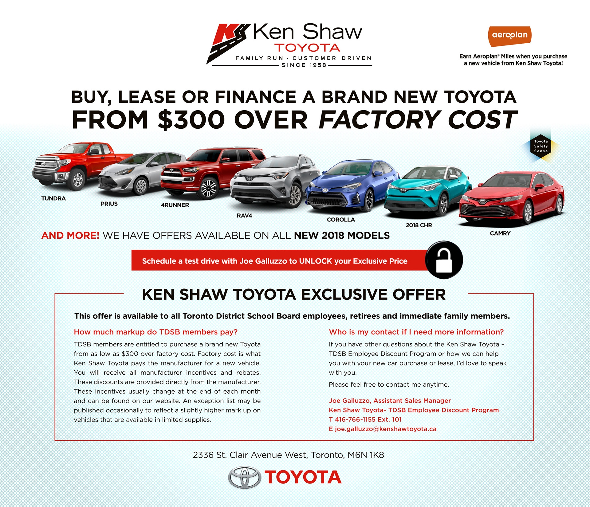 Kenshaw Toyota Offers
