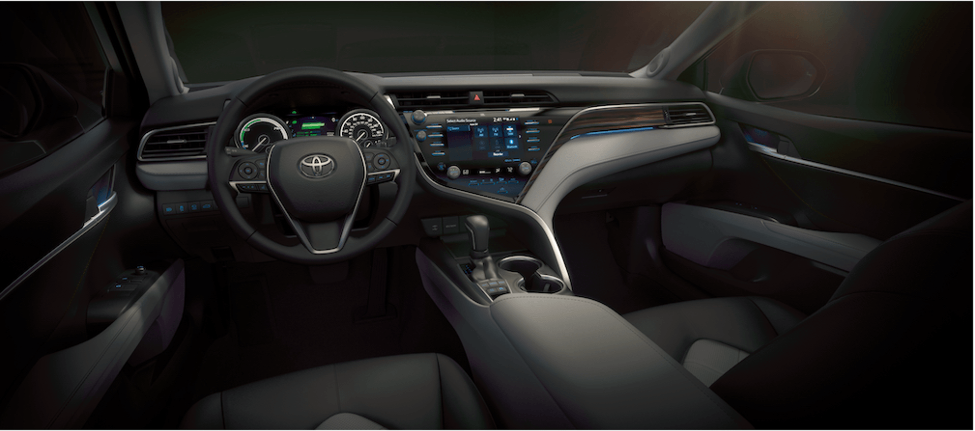 2018 Toyota Camry Interior at Ken Shaw Toyota in Toronto