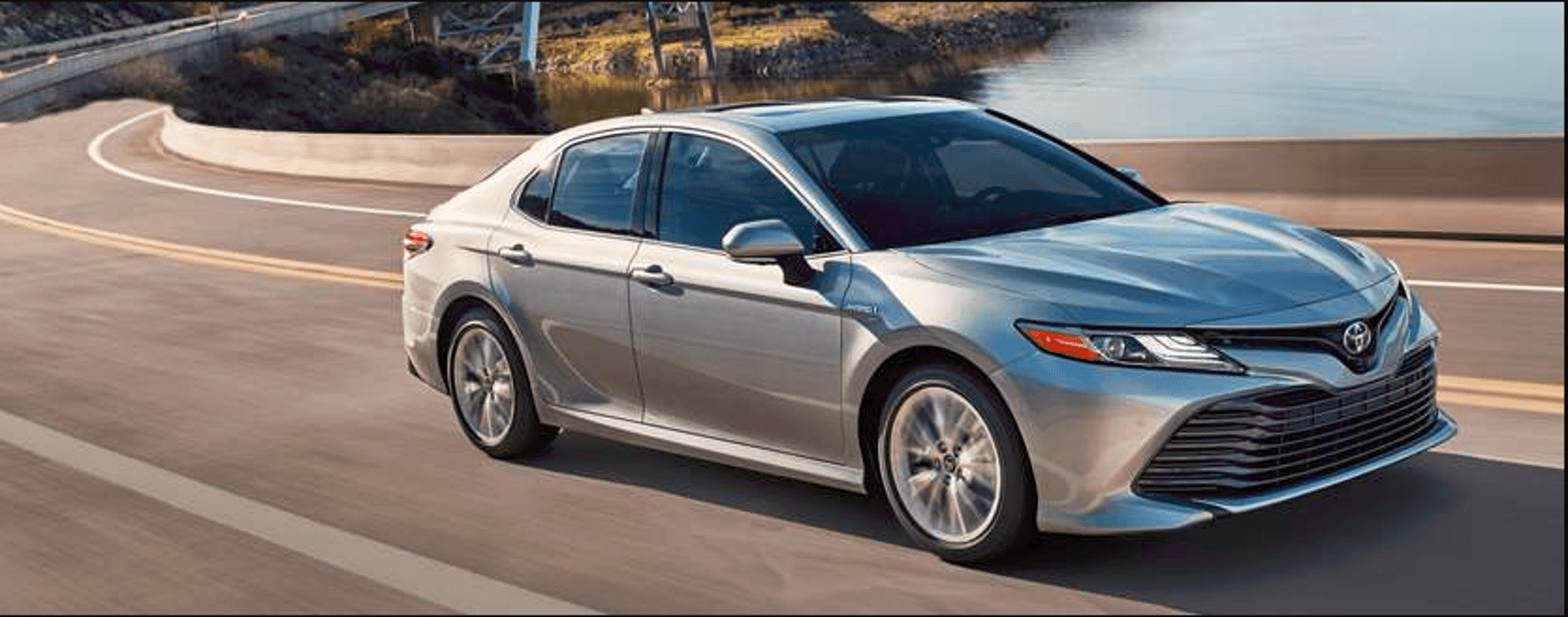 2018 Toyota Camry On the Road at Ken Shaw Toyota in Toronto