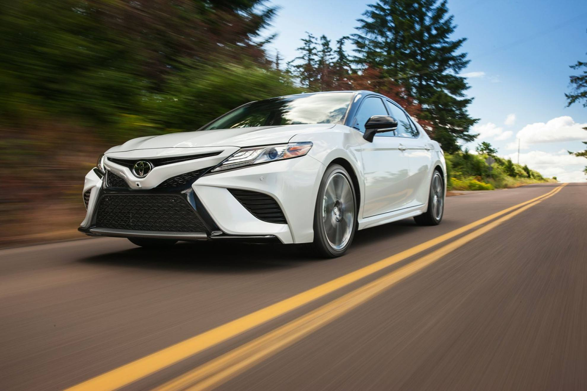 2018 Toyota Camry Front Grille at Ken Shaw Toyota in Toronto