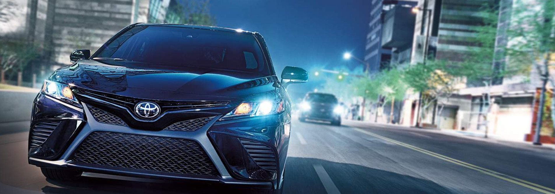 2018 Toyota Camry Exterior at Ken Shaw Toyota in Toronto