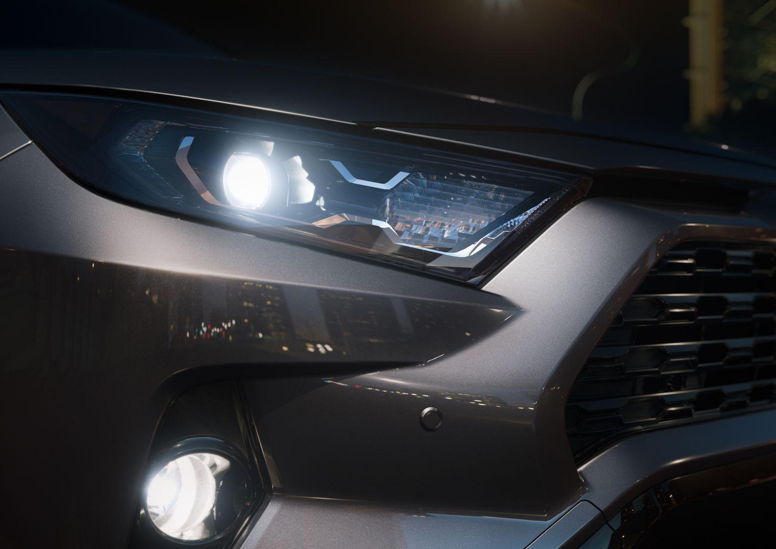 2019 Toyota RAV4 Headlights@ Ken Shaw Toyota in Toronto