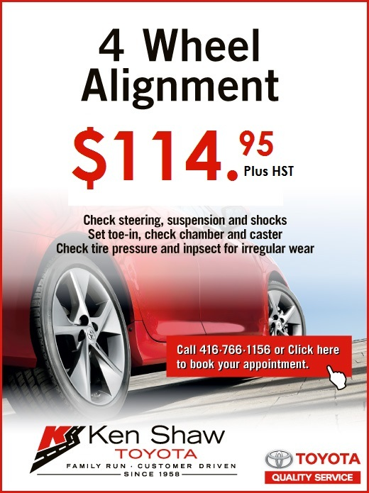 Toyota Alignment-2018