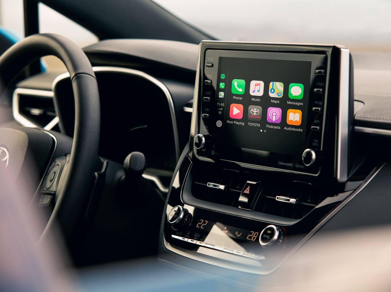 2019 Toyota Corolla Hatchback Interior @ Ken Shaw Toyota in Toronto