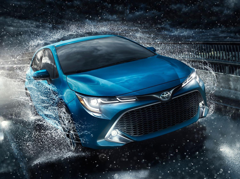 2019 Toyota Corolla Hatchback Exterior@ Ken Shaw Toyota in Toronto