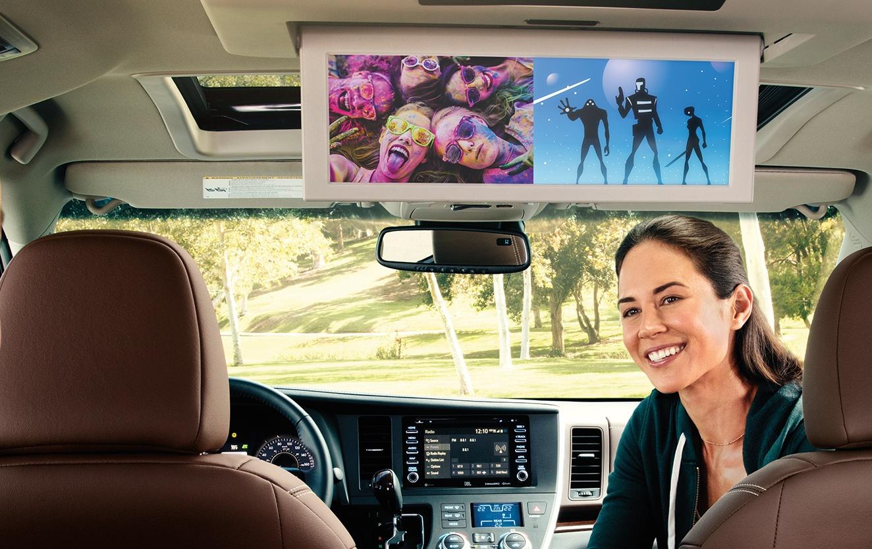 2020 Toyota Sienna Interior @ Ken Shaw Toyota in Toronto