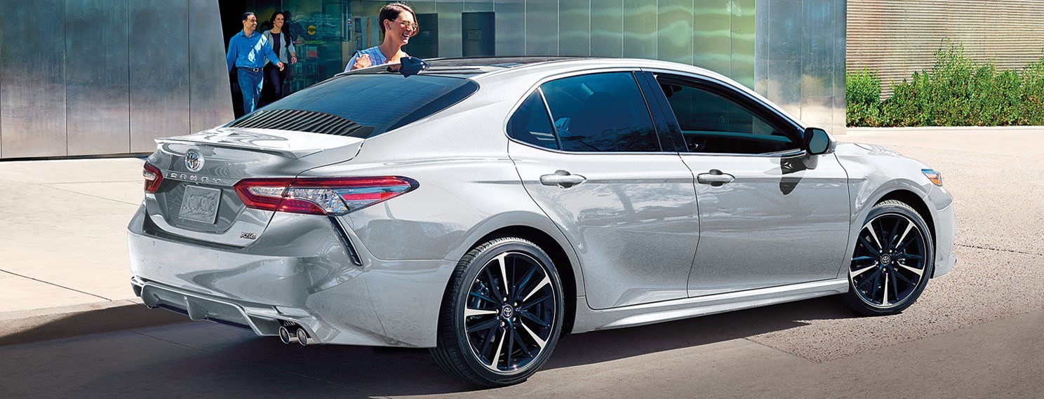 2019 Toyota Camry Front Grille at Ken Shaw Toyota in Toronto