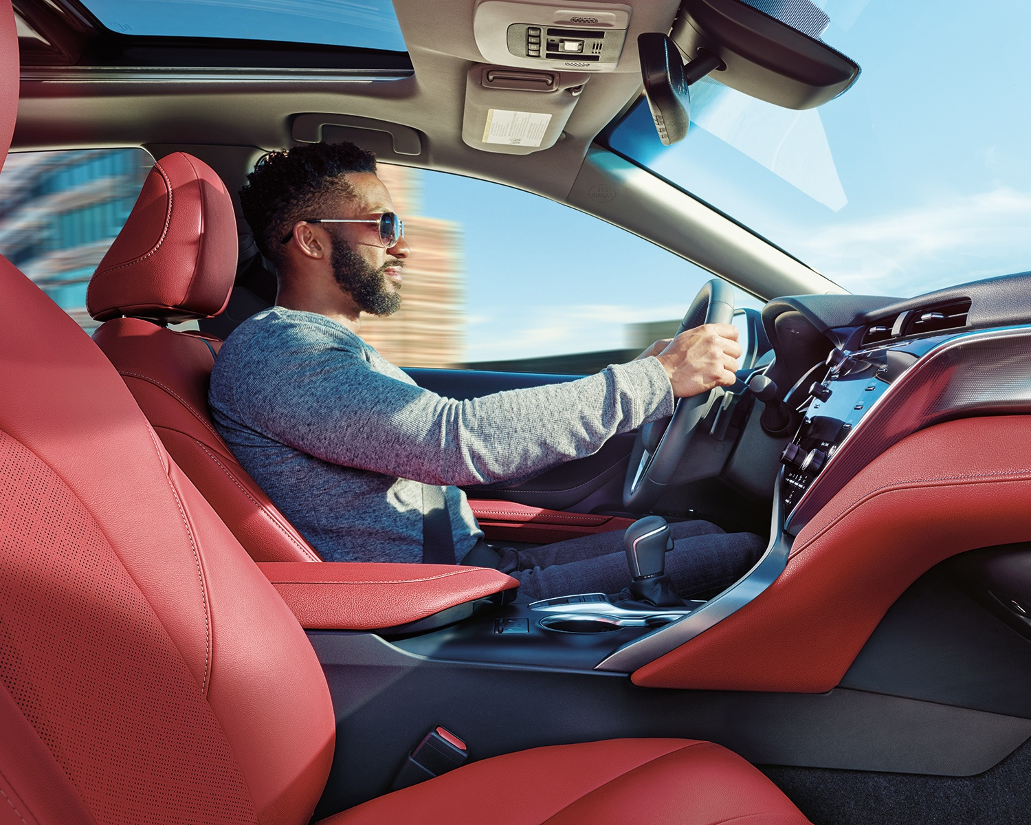 2019 Toyota Camry Steering Wheel at Ken Shaw Toyota in Toronto