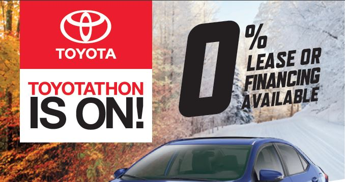 TOYOTATHON is here!