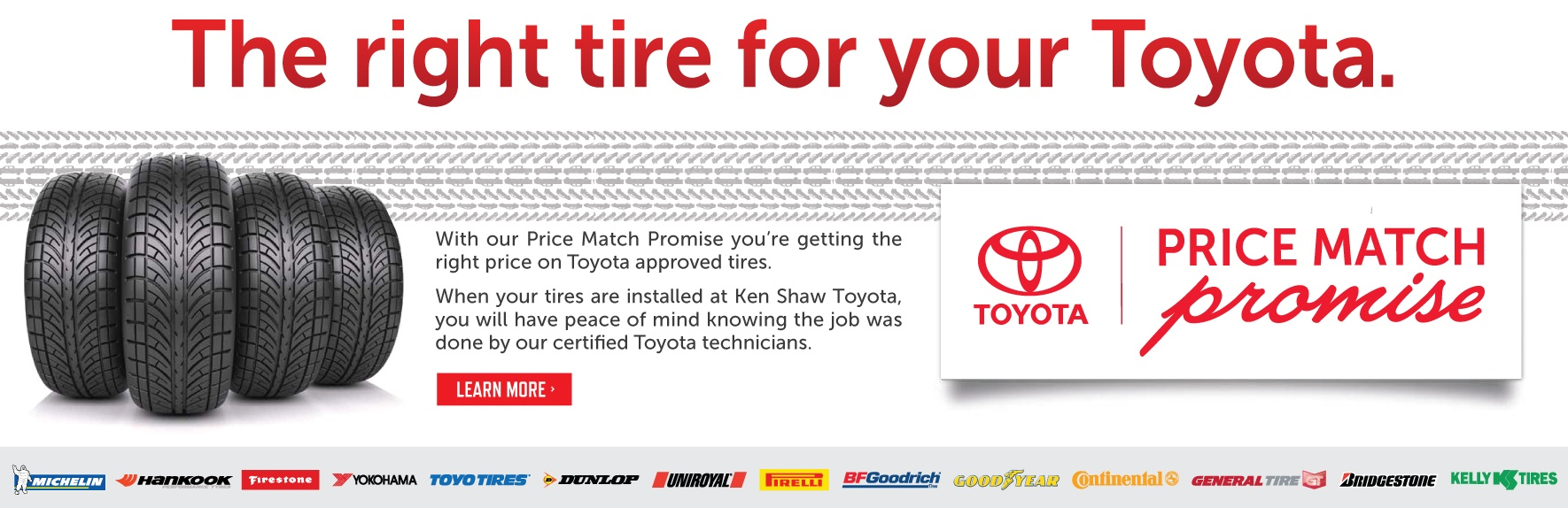 Toyota winter tire price match promotion toronto ontario toyota dealership