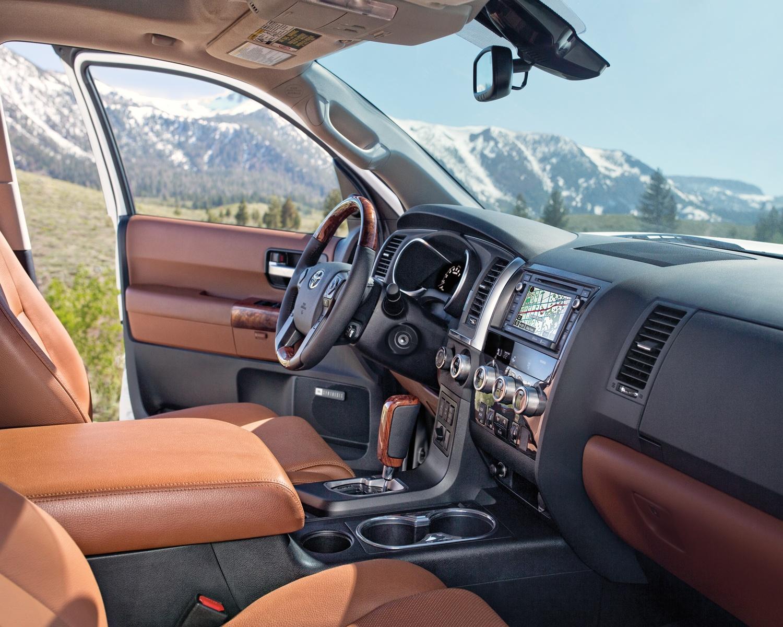 2019 Toyota Sequoia Interior @ Ken Shaw Toyota in Toronto Ontario