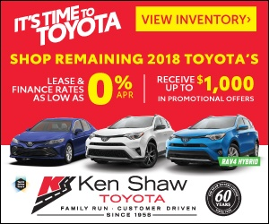 2018 Toyota on sale in Toronto