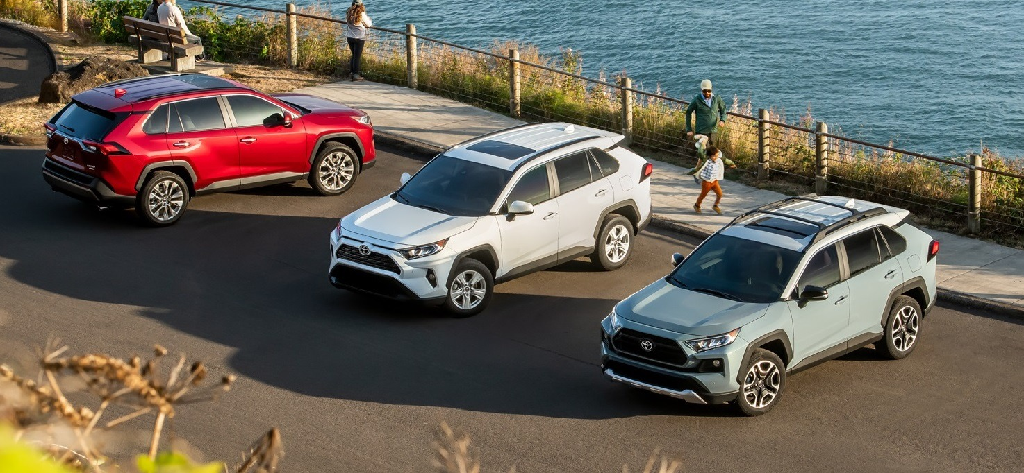 LOWEST RATES OF THE YEAR ON THE 2019 RAV4