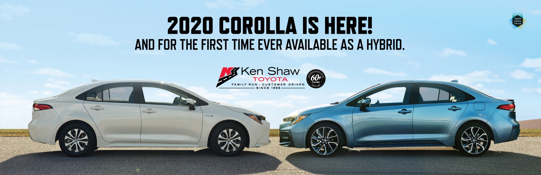 2020 Toyota Corolla Hybrid on sale at Ken Shaw Toyota dealership in Toronto Ontario
