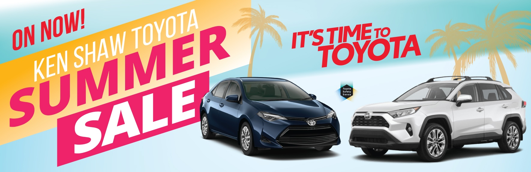 Toyota sale in Toronto at Ken Shaw Toyota