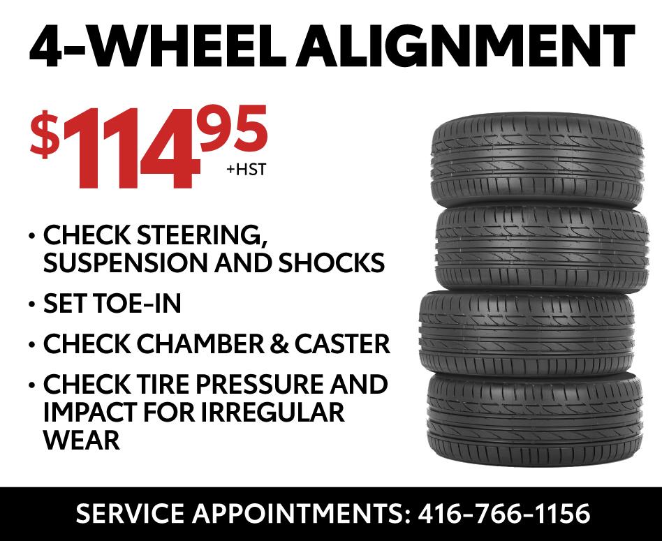 Four Wheel Alignment - Ken Shaw Toyota