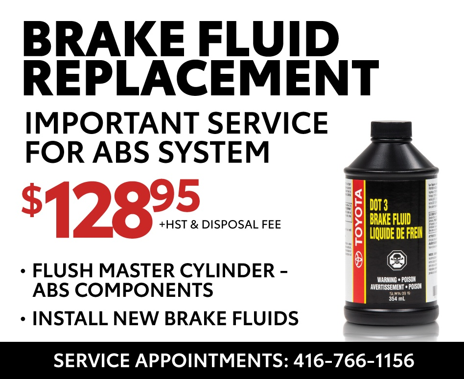 Brake Fluid Replacement