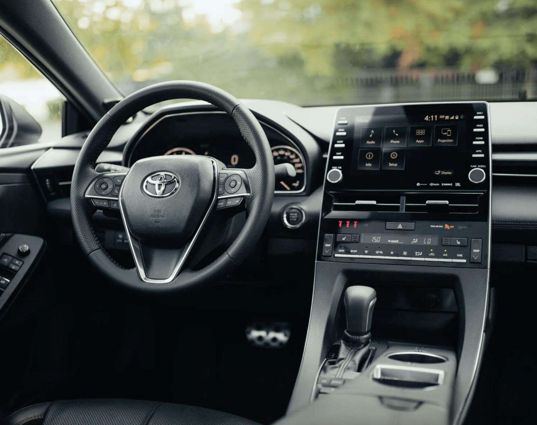 2020 Toyota Avalon Controls@ Ken Shaw Toyota in Toronto