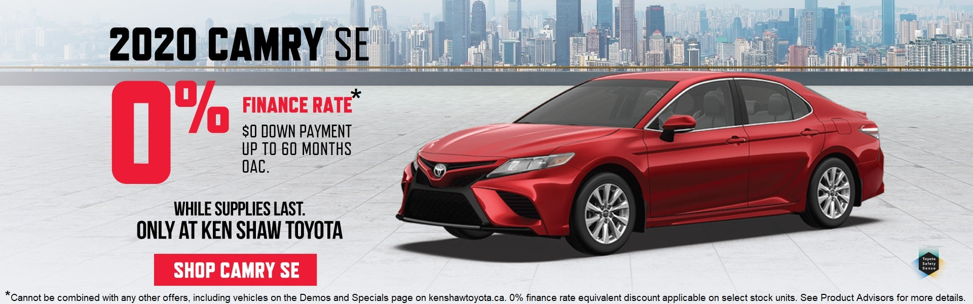 camry on sale at Ken Shaw Toyota in Toronto Promotion