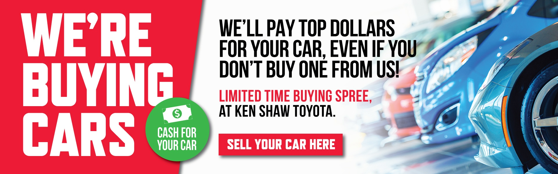 quick cash for cars toronto ontario at Ken Shaw Toyota