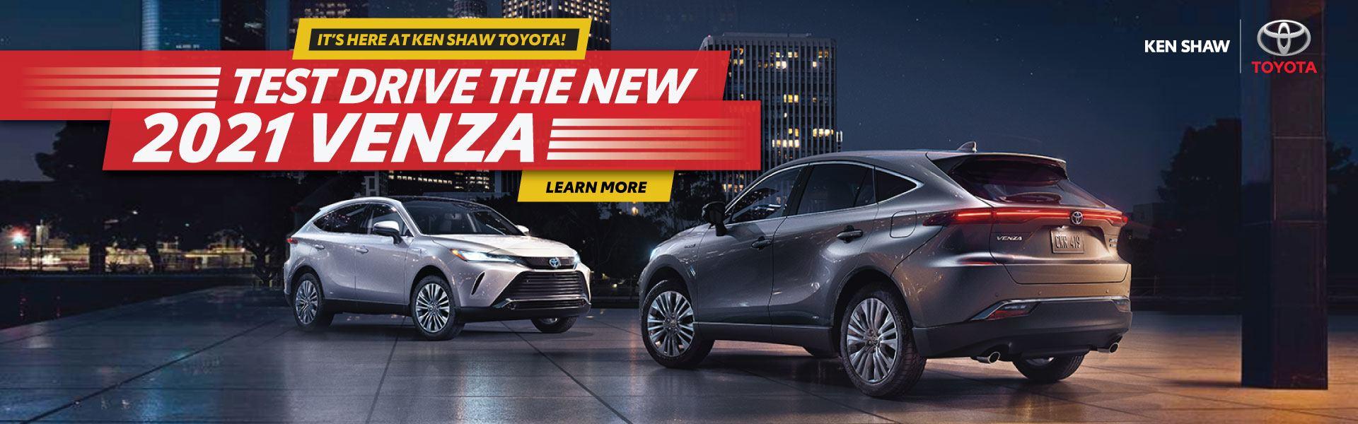 2021 Toyota Venza at Ken Shaw Toyota in Toronto Ontario