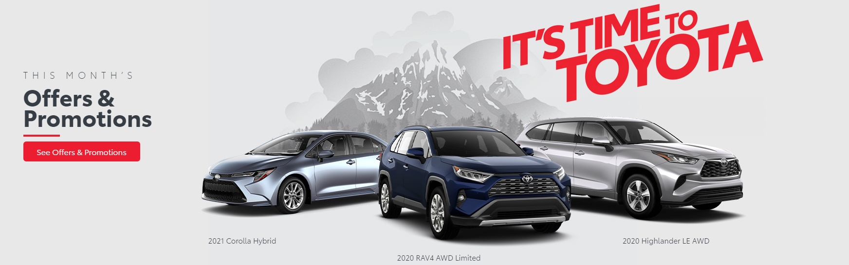 it's time to toyota sale promotion offer at ken shaw toyota in ontario