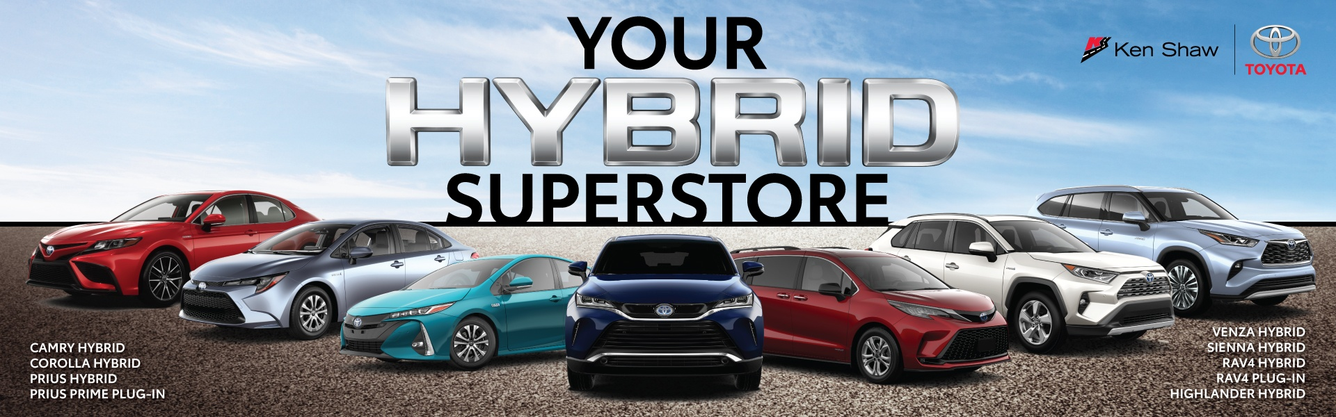 Toyota Hybrid Electric Vehicles, cars, sedans, SUV and Minivan