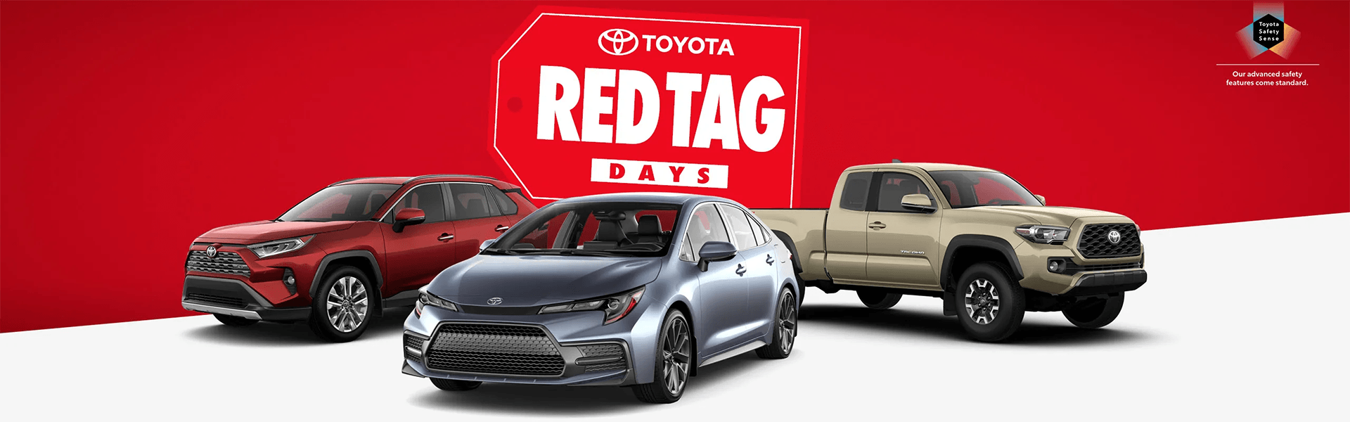 Red tag day at Ken Shaw Toyota in Toronto offers, promotions and sale